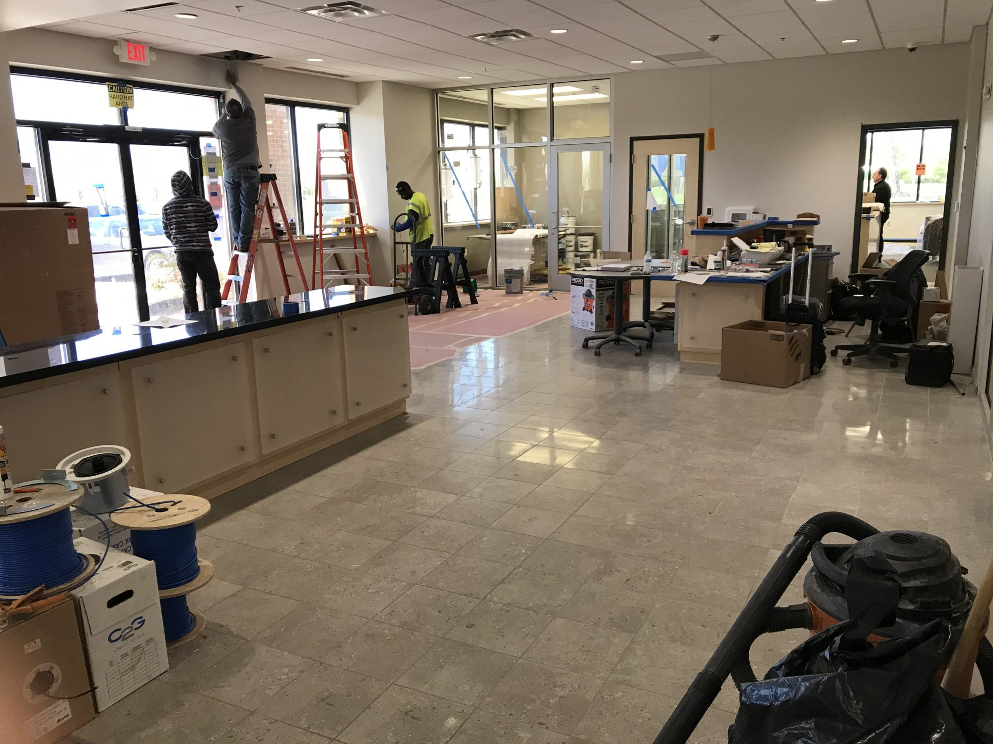 Summit Building Services, Inc. completed the post construction cleaning for Englewood Construction