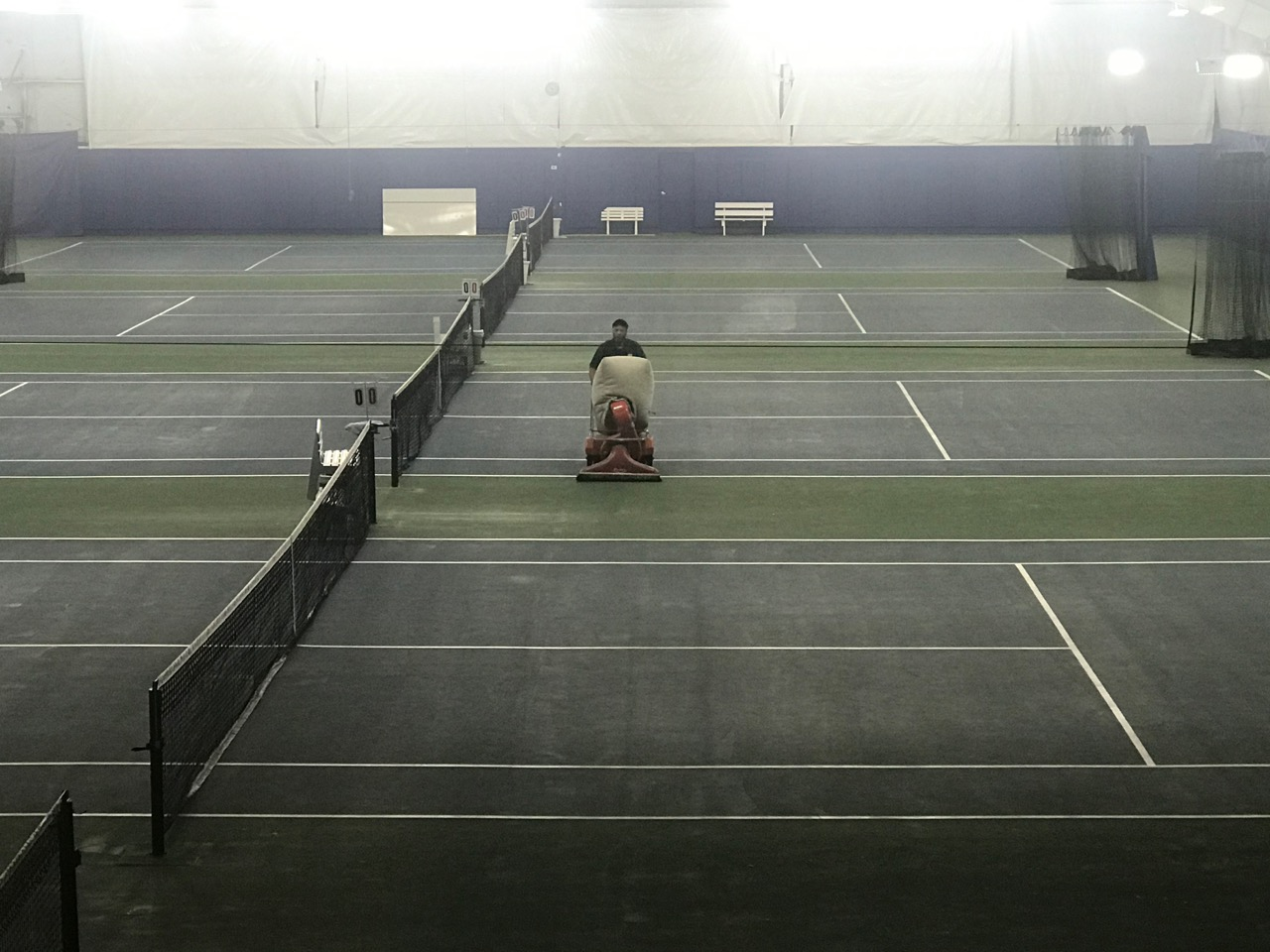 Carroll Tennis Hires Summit Building Services For Weekly Cleanings