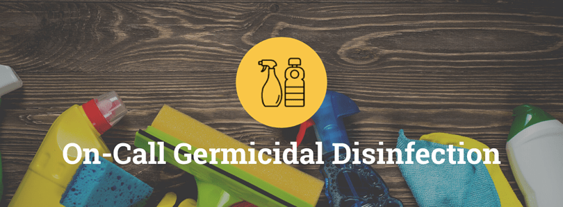 On-Call Germicidal Disinfection