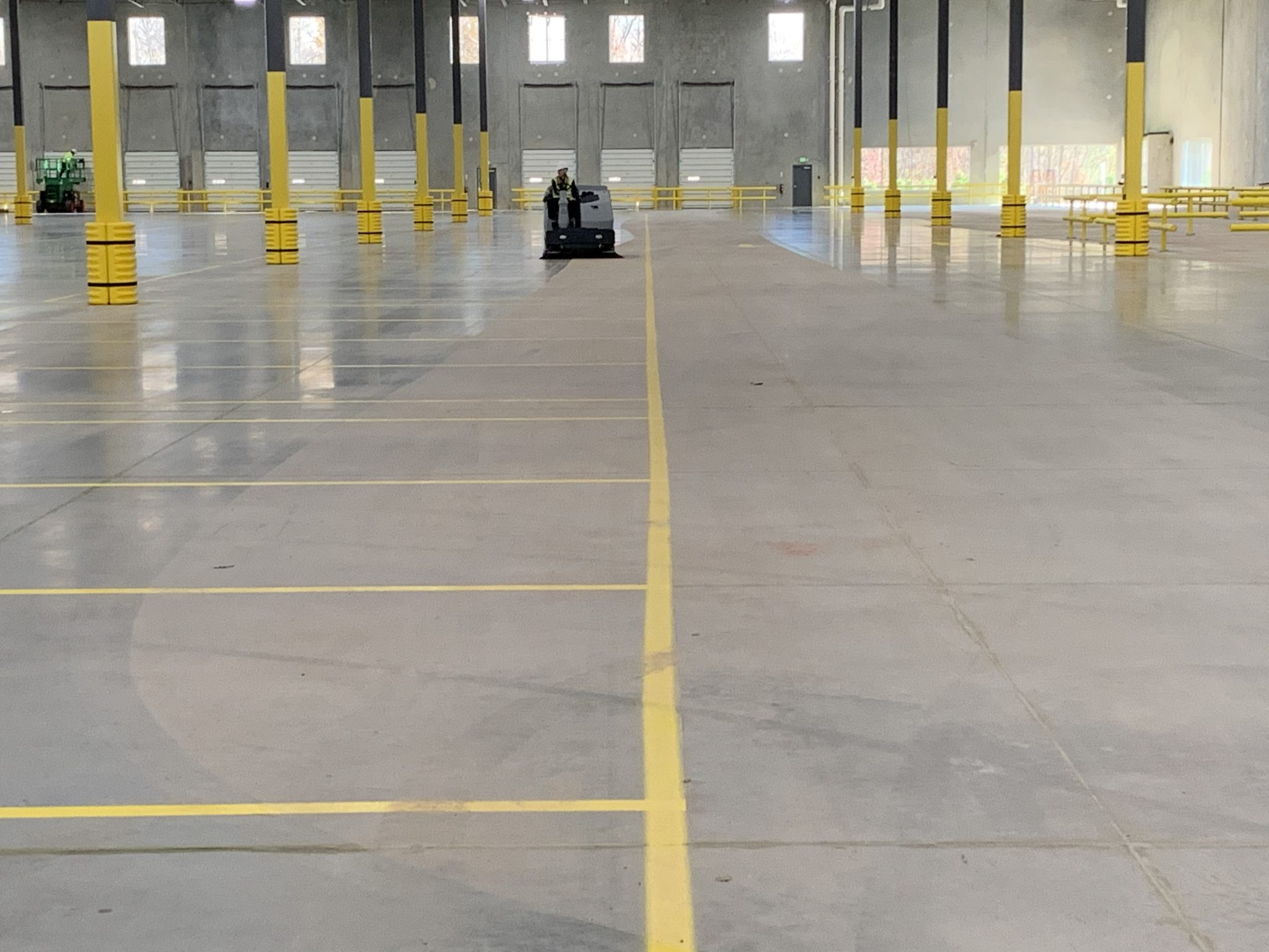 Post-construction cleaning project for large construction company in Baltimore area